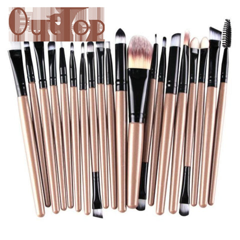 20 pcs Makeup Brush Set - awashdress