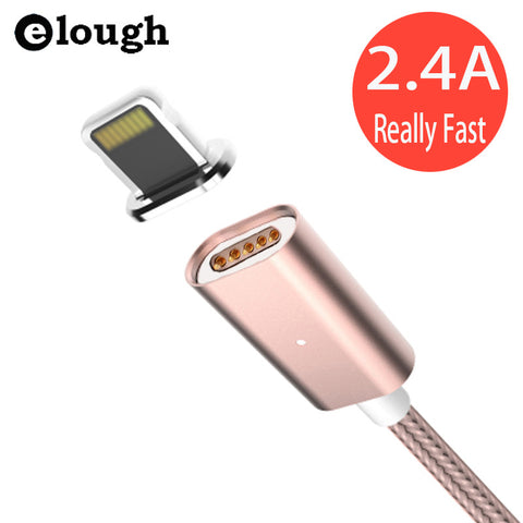 1m 2m 3m 8pin Rose Gold Data Charger Cable for iPhone