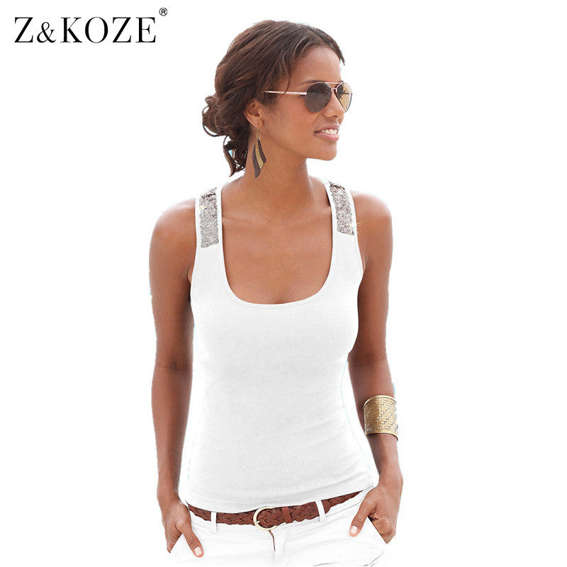 Sleeveless Tank Top Casual Shirts