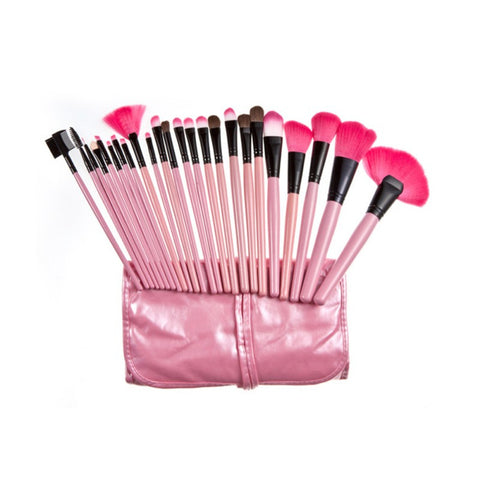 24 pcs Makeup Brush Set - awashdress