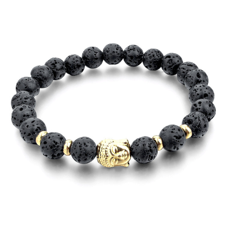 Gold Plated Buddha Bracelet