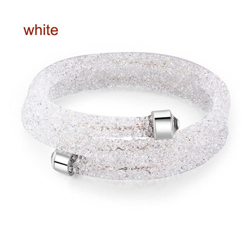 Full Crystal From Swarovski Double Wrap Bracelet