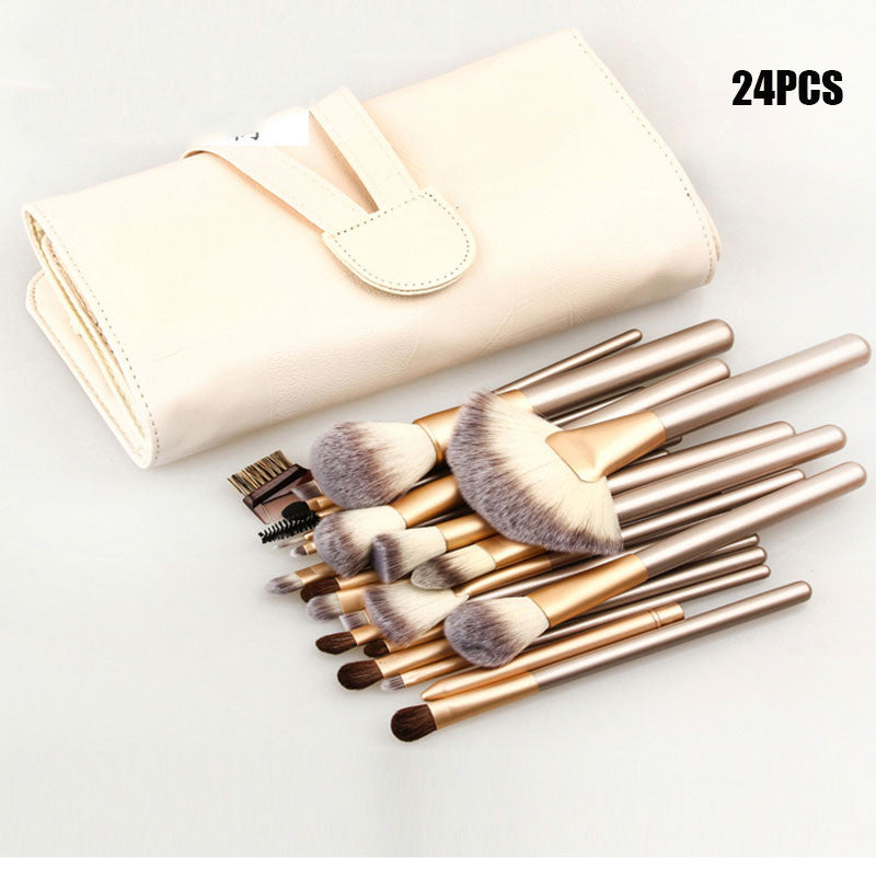 Professional 12/18/24pcs Makeup Brushes Set