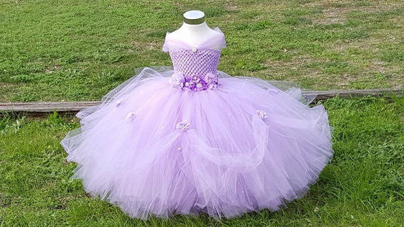 Lavender Kids Dress for Girls