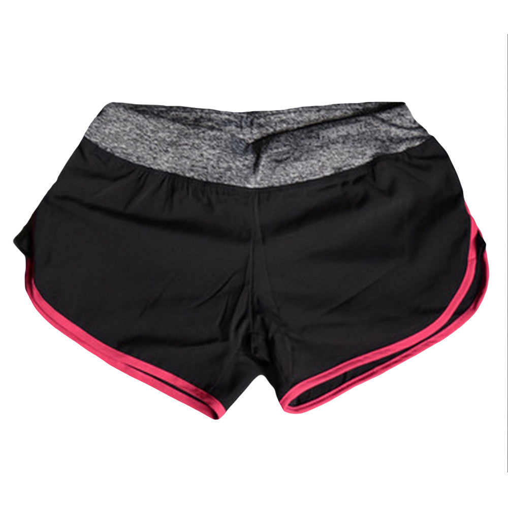 Summer Quick-drying Women Shorts Elastic Waist
