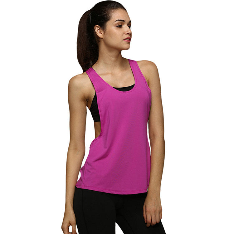 Women Tank Tops Casual Loose Fitness Sleeveless