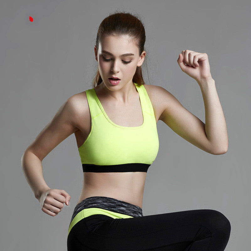 Shockproof Running Vest Yoga Gym Fitness Bra Seamless