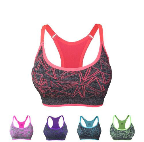 Shockproof Yoga Sport fitness bra