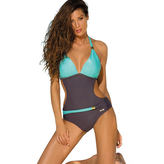 One Piece Brazilian Bandage Swimwear