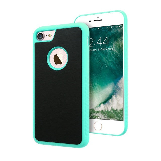 Adsorbable Anti-gravity Selfie Nano Suction Case For iPhone - awashdress
