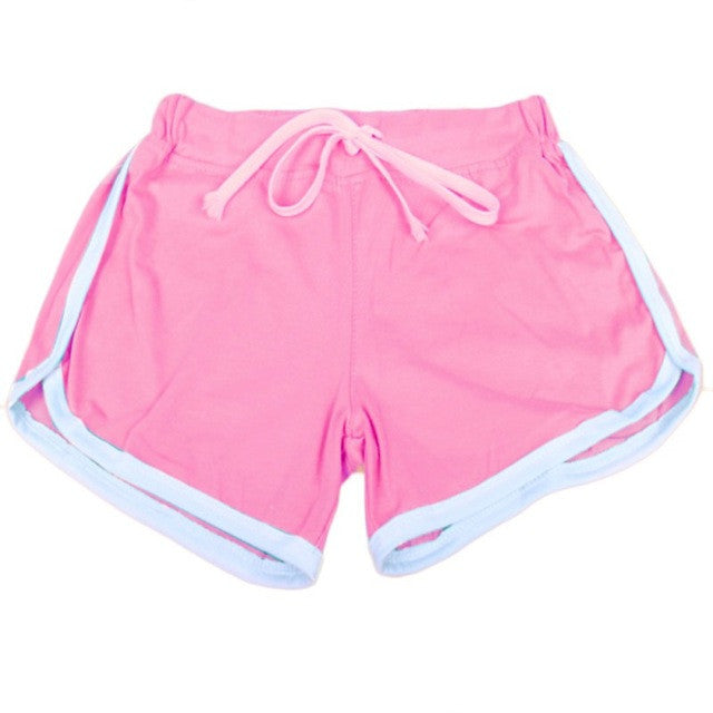 Workout Waistband Fitness Shorts