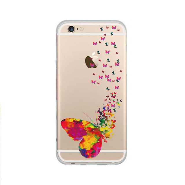 "Phone Case Cover For iPhone 6 6s Case 4.7"" Ultra Butterfly"