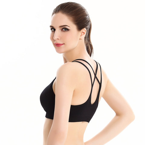 Energy Black Bra Tanks Tops