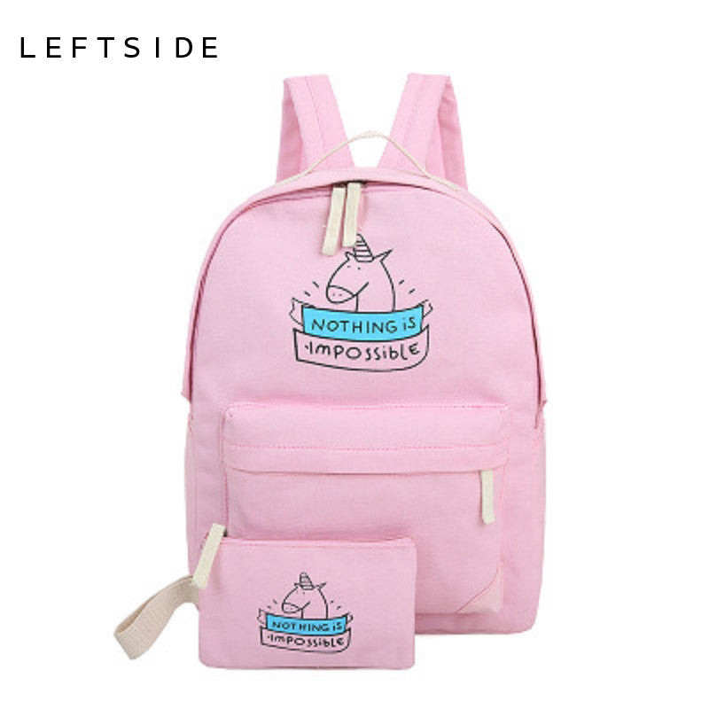 Backpack print 2pcs/set - awashdress