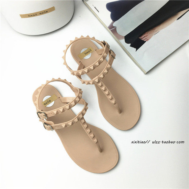 Rome Style Flat Sandals
