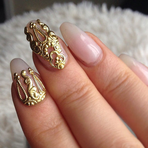 10pcs 3D alloy Nail art Decoration - awashdress
