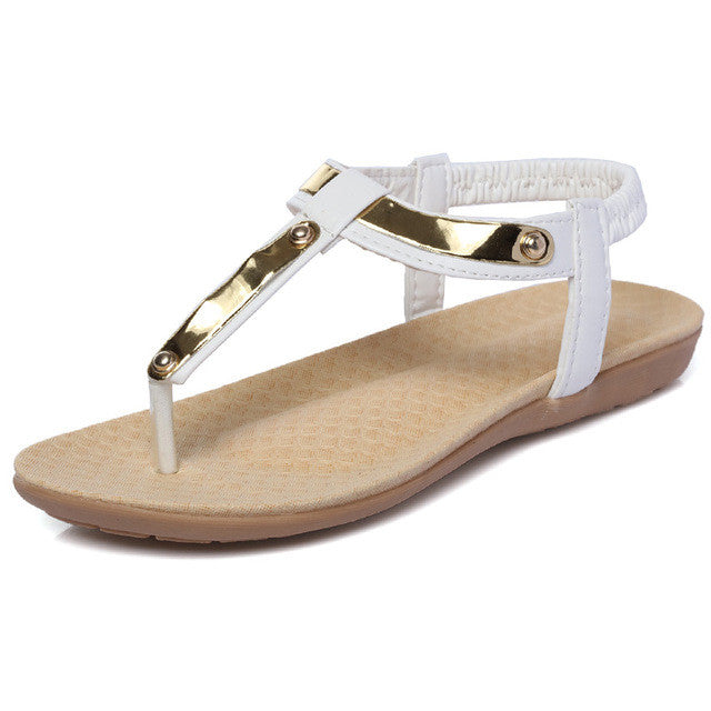 Beach Flat Sandals - awashdress