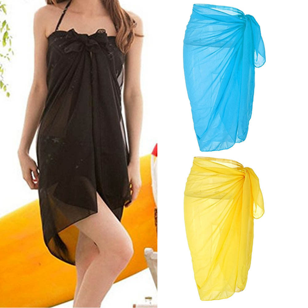Swimwear Scarf Beach Wear Cover Wrap