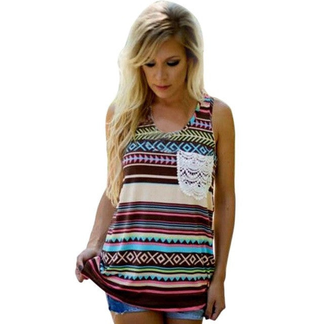 Women Tank Tops sleeveless Tee