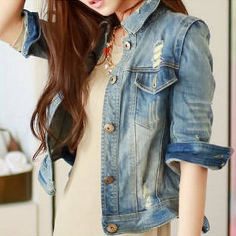 Denim Jacket - awashdress
