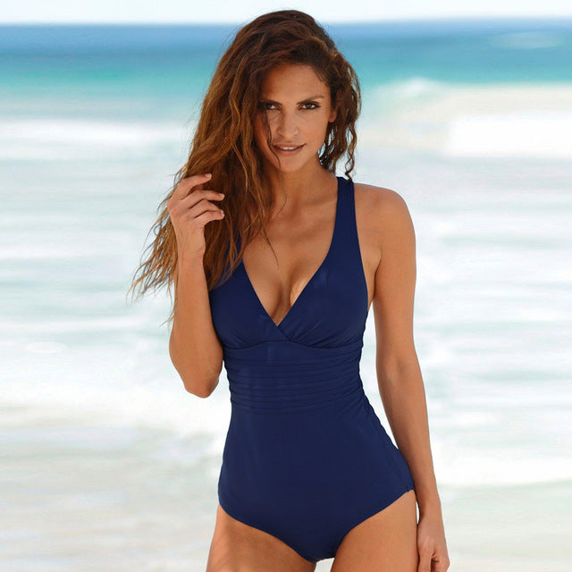 One Piece Swimsuit Women Swimwear
