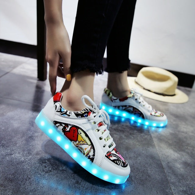 Glowing Sneakers LED Light