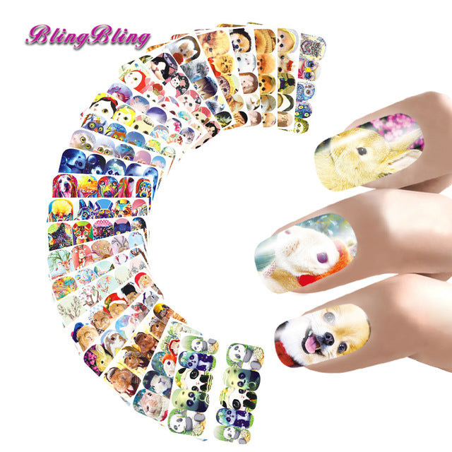 24 sheet Nail Sticker Marilyn Monroe Nail Art - awashdress