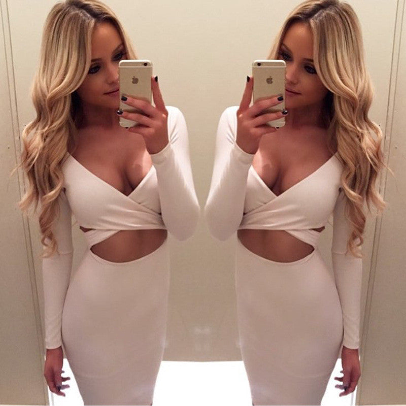 Bandage Bodycon Dress