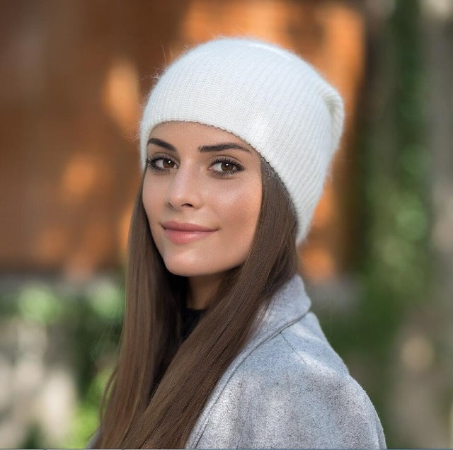 Fashion Knitted Hat Female Cap