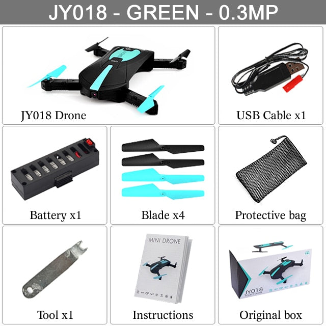 Portable Mini Selfie Drone Foldable Helicopter Headless WIFI FPV Camera RC Quadcopter VS H31
