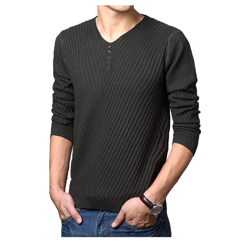 Men Cashmere Wool Pullover