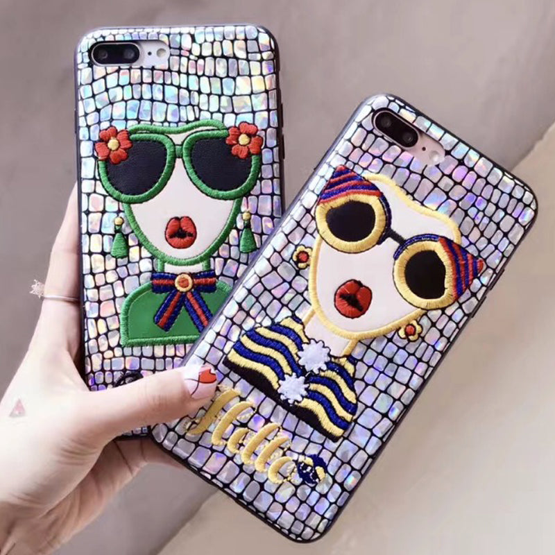 Crocodile Pattern Soft Phone Cases For iPhone - awashdress
