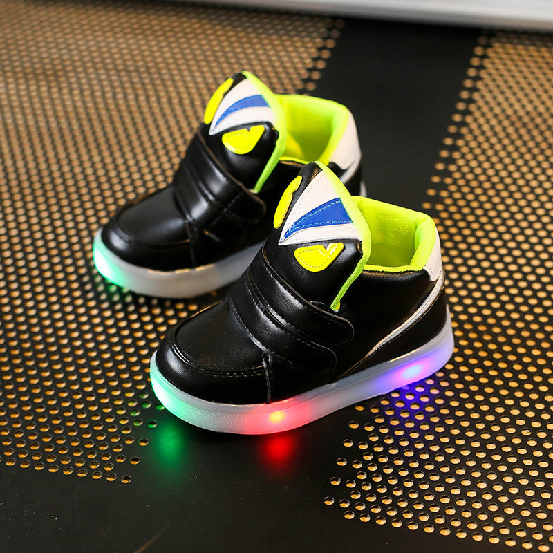 Fashion Children Shoes Flash Kids Light