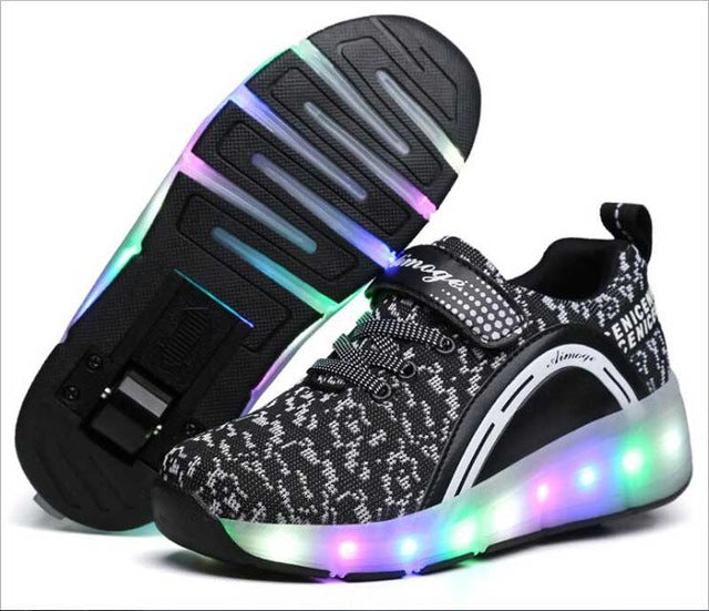 LED light with wheels Skate Boys And Girls