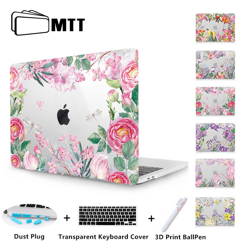 MTT Clear Crystal Case For macbook Pro 13 15 Retina 12 inch Touch Bar