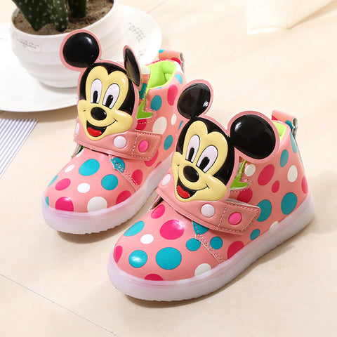 Fashion Children Shoes With Flash Light