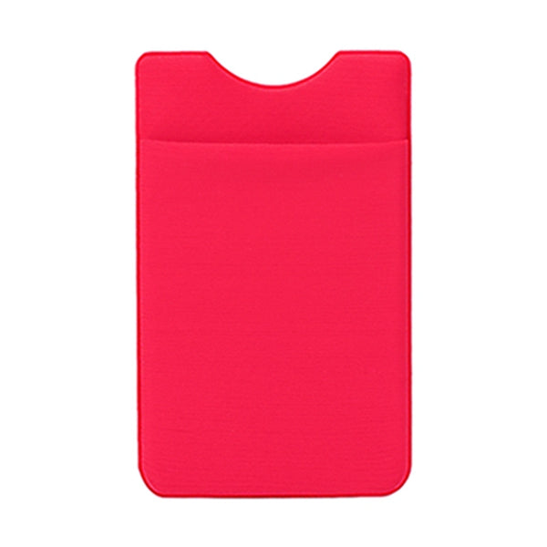 Elastic Lycra Adhesive Cell Phone Wallet Case for Credit Card Holder Sticker Pocket