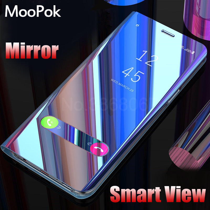 Smart View Phone Case For Samsung Galaxy S9 S8