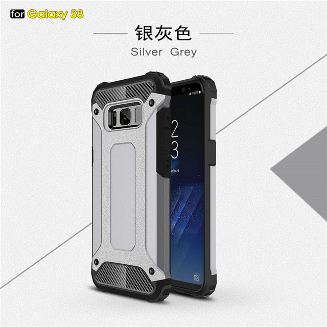 Armor Phone Case For SAMSUNG Note 8 S9 S8 Plus S7 6 Edge - awashdress