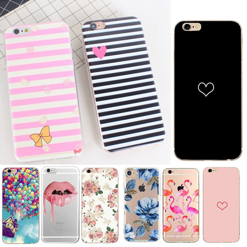 657a00458c2133 For Capinha Para iphone 6s Silicon Soft Case for iPhone X 10 iPhone 6S –  awashdress