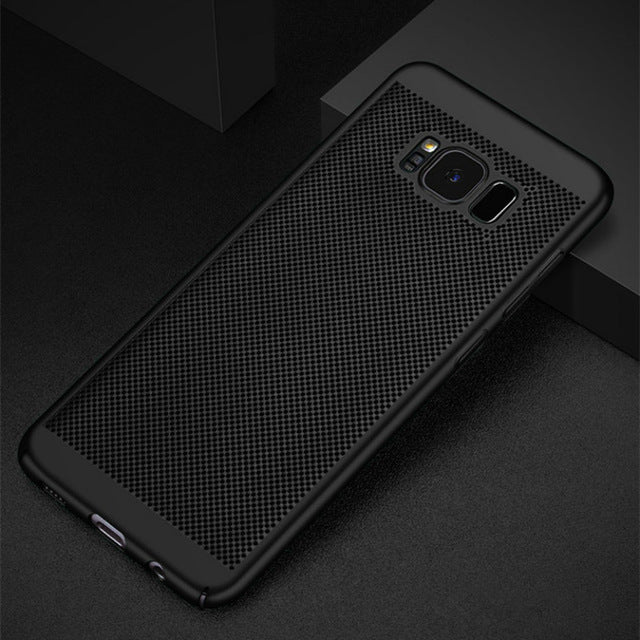 Heat Dissipation Case For Samsung Galaxy S8 S9 Plus S6 S7 Edge S5 A3 A5 A7 J3 J5 J7 2016 2017 A8 2018 Cover Cases shell