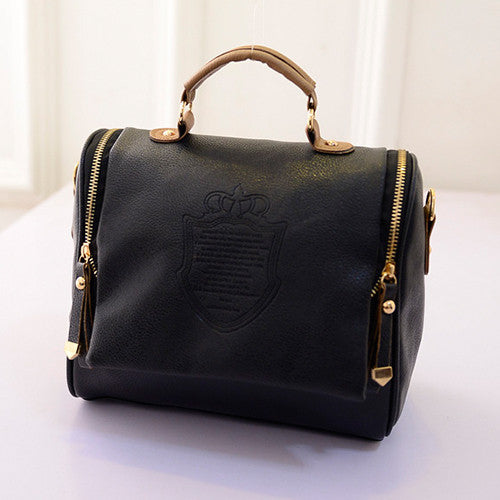 PU Leather bag vintage small tote