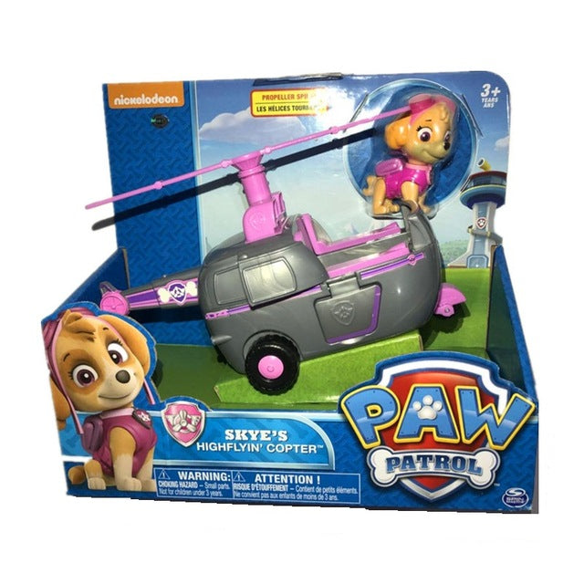 Paw Patrol dog Ryder's Rescue ATV Vehicle and Figure figure toy Puppy Dog Patrol Car patrulla Patrulla Kids Toys Dog Genuine