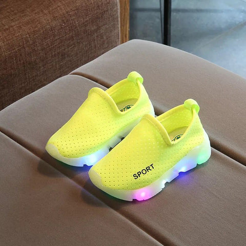 Children's casual shoes LED