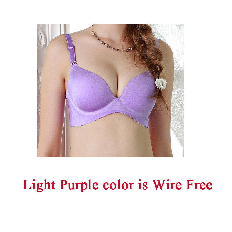 Seamless Adjustable Push up Bra