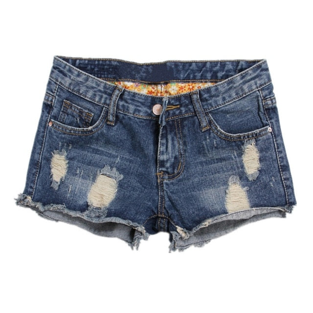 Hole shorts jeans