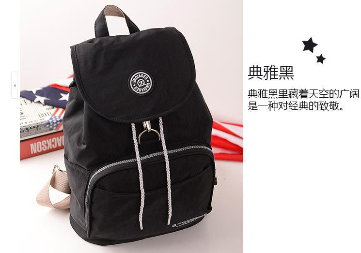 Backpack Waterproof Nylon - awashdress