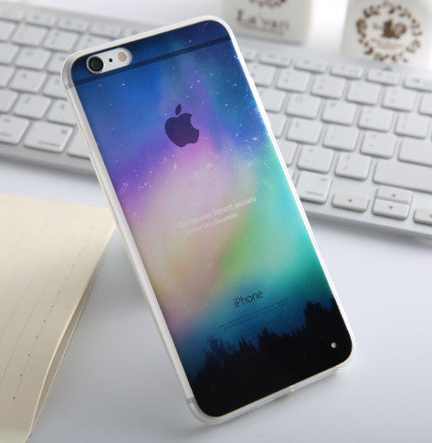 Fashion Thin Soft Silicone Back Cover Case - awashdress