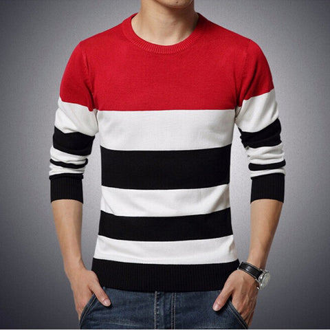 Casual O-Neck Knit Warm Pullover
