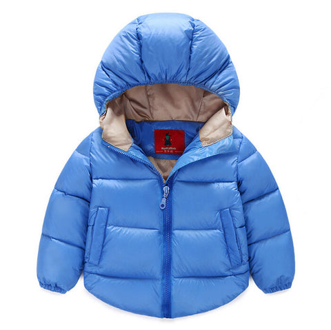 Warm Hooded Jacket Kids